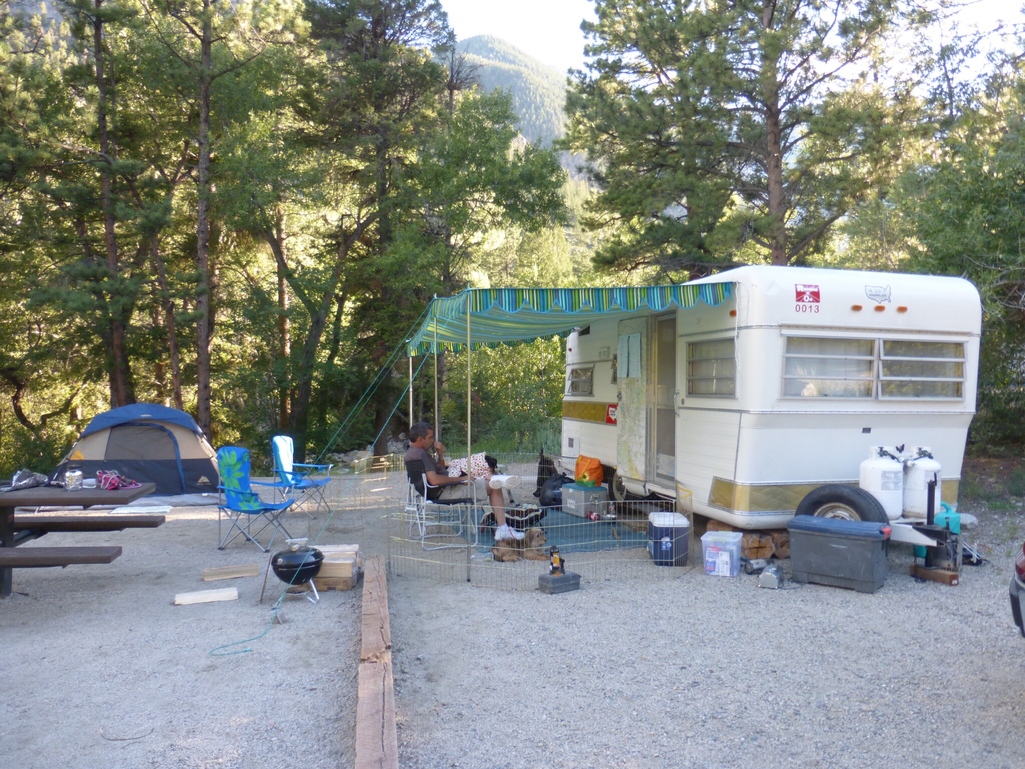 Mt Princeton Campground With The Holiday Rambler